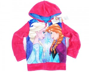 "Bluza z kapturem Frozen ""Best Friends"" różowa 5 lat"