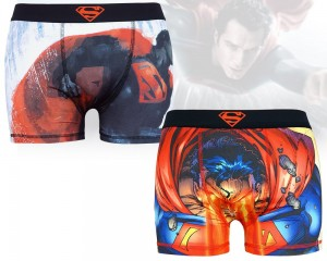 "Męskie bokserki Superman ""Invincible"" 2-pak XL"