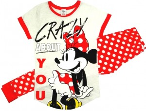 Damska piżama Disney '' Crazy About You'' L